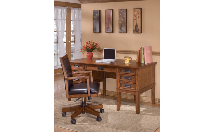 H319-26 CROSS ISLAND HOME OFFICE STORAGE LEG DESK