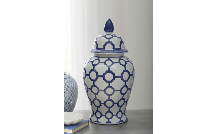 A2000344 DIONYHSIUS JAR/DIONYHSIUS/BLUE/WHITE