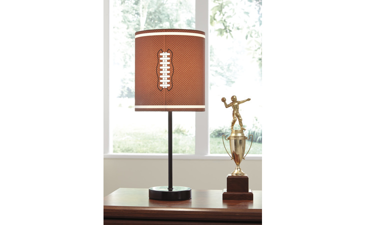 L857754 LAMAR METAL TABLE LAMP (1/CN)/LAMAR