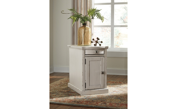T127-642 LAFLORN CHAIR SIDE END TABLE/LAFLORN