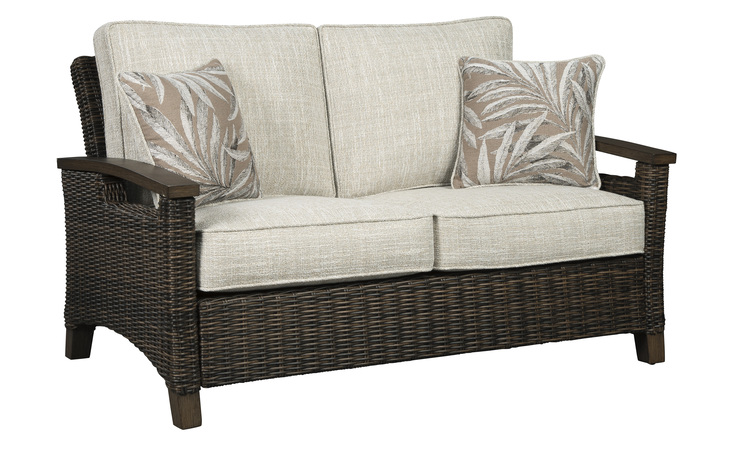 P750-835 PARADISE TRAIL LOVESEAT W/CUSHION