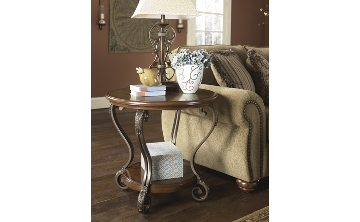 T517-6 NESTOR ROUND END TABLE/NESTOR