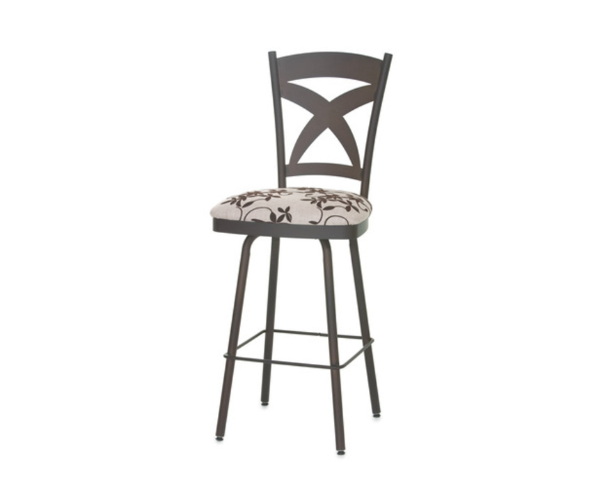 41451-26U Marcus SWIVEL STOOL COUNTER HEIGHT  MARCUS        UPHOLSTERED SEAT AND METAL BACKREST
