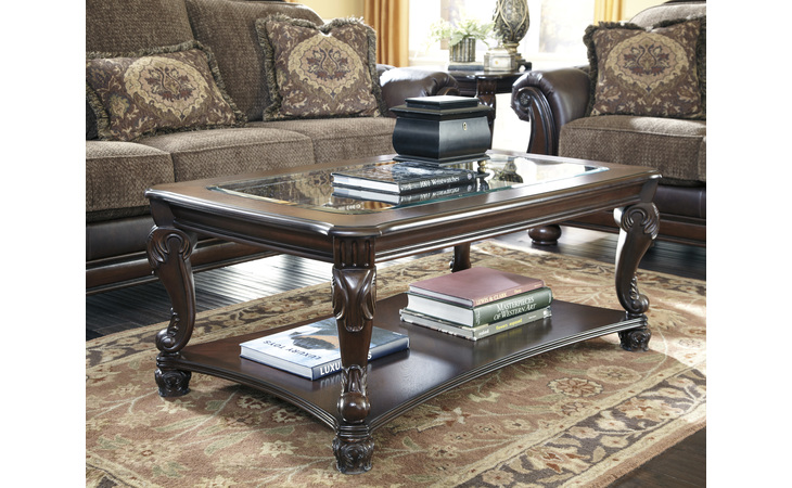 T519-1 NORCASTLE RECTANGULAR COFFEE TABLE