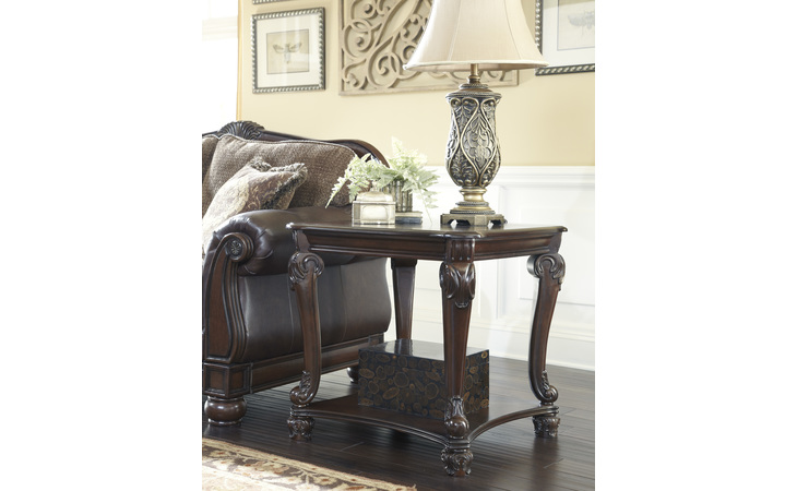 T519-2 NORCASTLE SQUARE END TABLE/NORCASTLE
