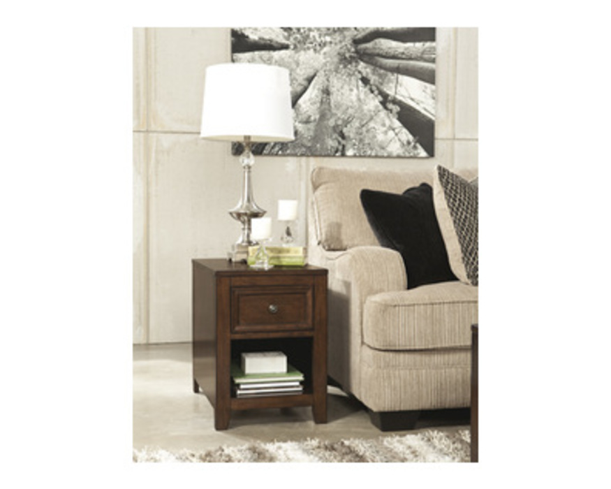T594-3 KISHORE RECTANGULAR END TABLE