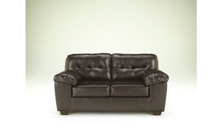 2010135 ALLISTON LOVESEAT/ALLISTON/CHOCOLATE