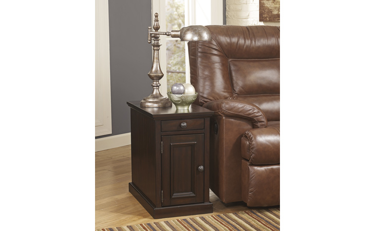 T127-551 LAFLORN CHAIR SIDE END TABLE/LAFLORN