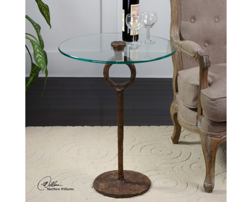 24336  DIOGO, ACCENT TABLE