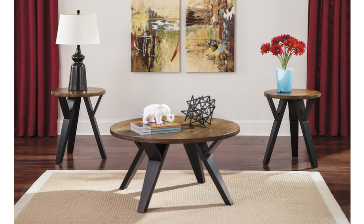 T267-13 INGEL OCCASIONAL TABLE SET (3/CN)