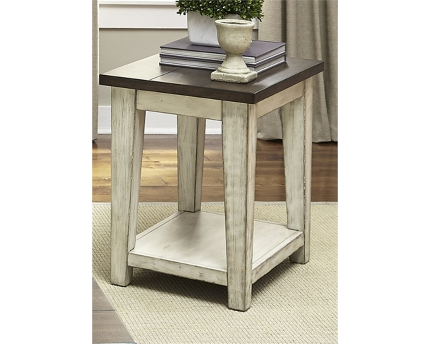 612-OT1021 Lancaster CHAIR SIDE TABLE