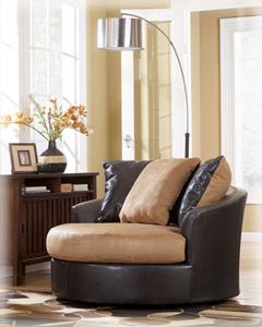 Lg Round Swivel Chair