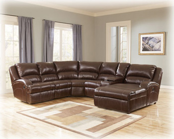 Laf Pressback Sectional Chaise