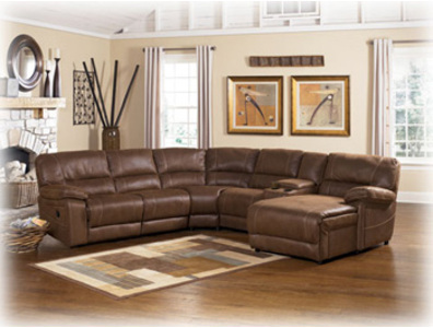 Laf Pressback Sectional Chaise,