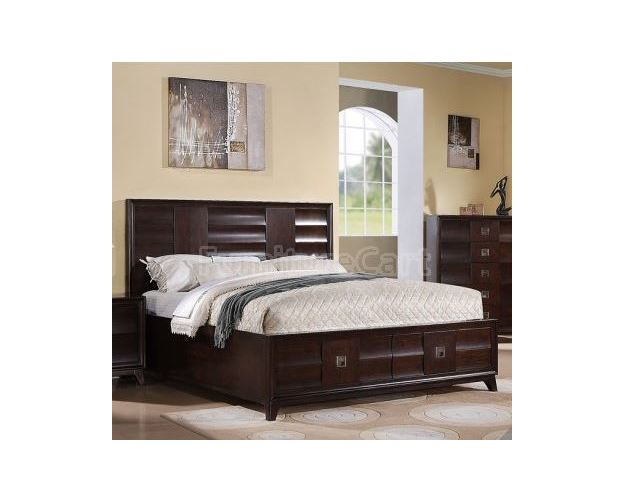 SENECA KING STORAGE FOOTBOARD BONDED