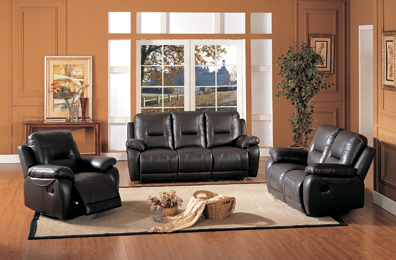 Recliner Chair Leather/pvc