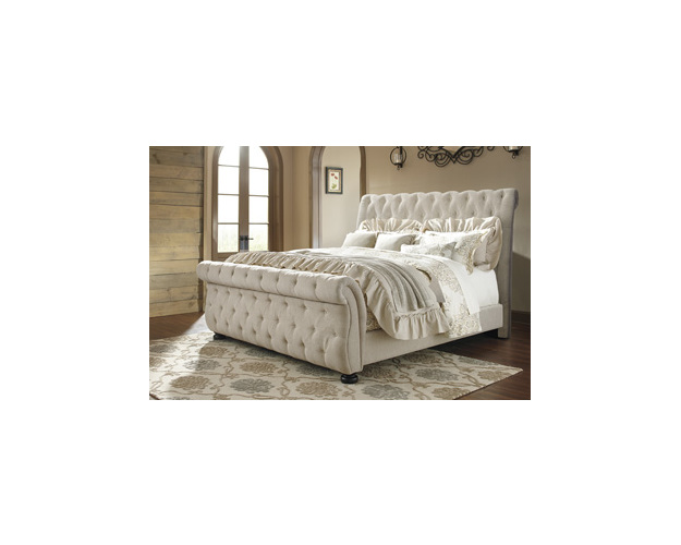 Queen Upholstered Headboard Willenburg Signature