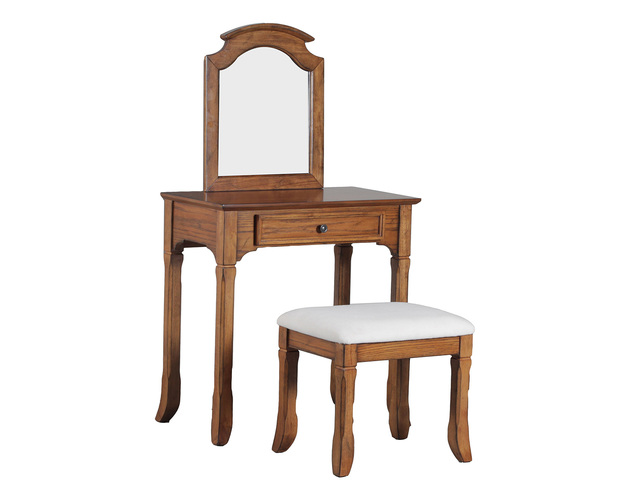 OAKDALE VANITY WITH STOOL