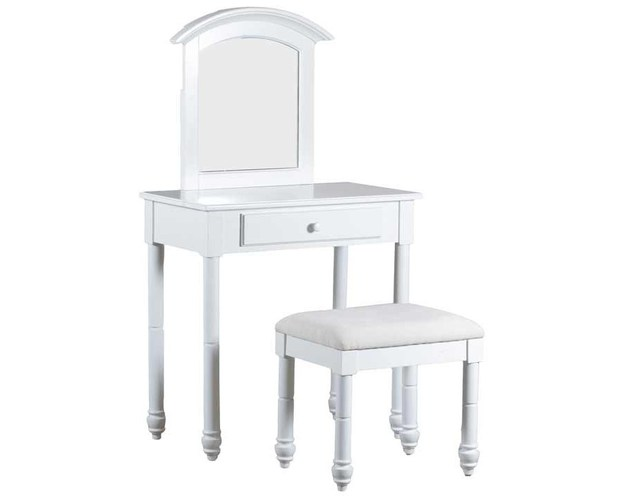 WHITEHURST VANITY WITH STOOL