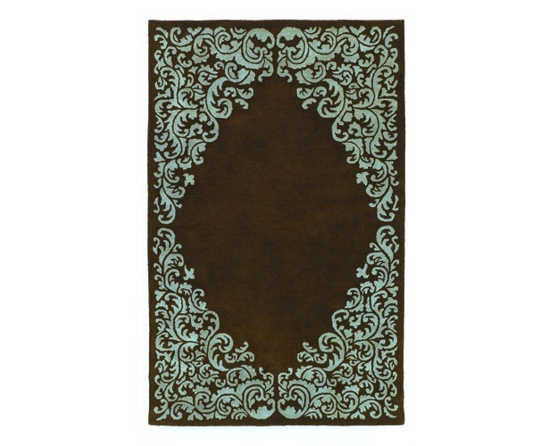 Medium Rug-rugs-lorraine - Brown Blue