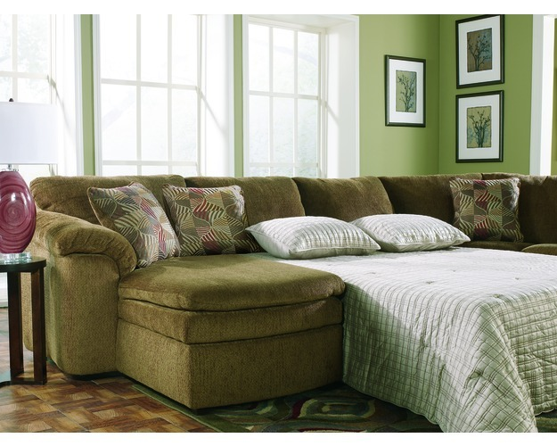 Roper Armless 3-piece Sofabed/ Loveseat Set | Overstock.com
