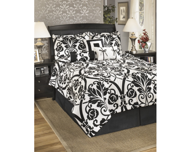King Tob Set-top Of Bed-beauville - Ebony