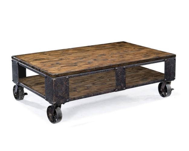 T1755 - PINEBROOK RECTANGULAR END TABLE