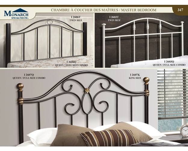 Black Queen / Full Size Combo Headboard Or Footboard Only   Pg347