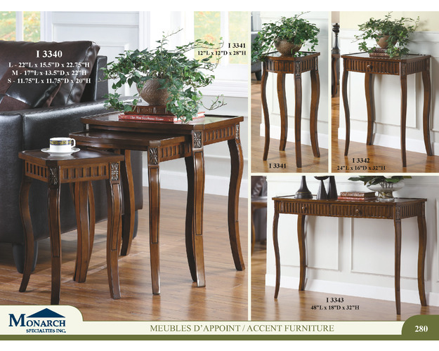 Dark Cherry Veneer Top Plant Stand   Pg280