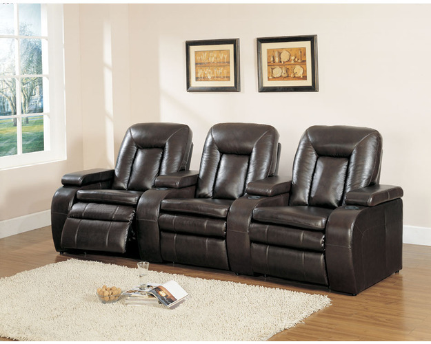 Leather Lhf Recliner Chair With Motor