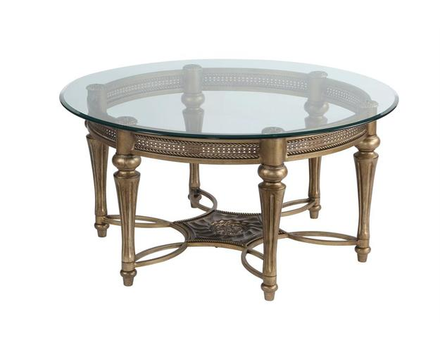 375 - GALLOWAY ROUND END TABLE