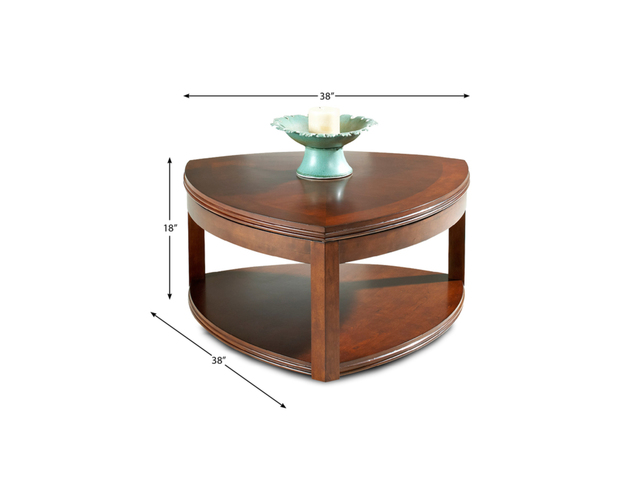 COCKTAIL TABLE WITH CASTERS TETRA