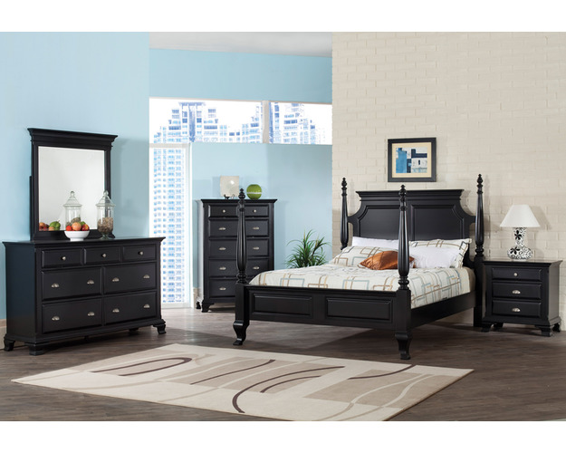 KING HEADBOARD BLACK