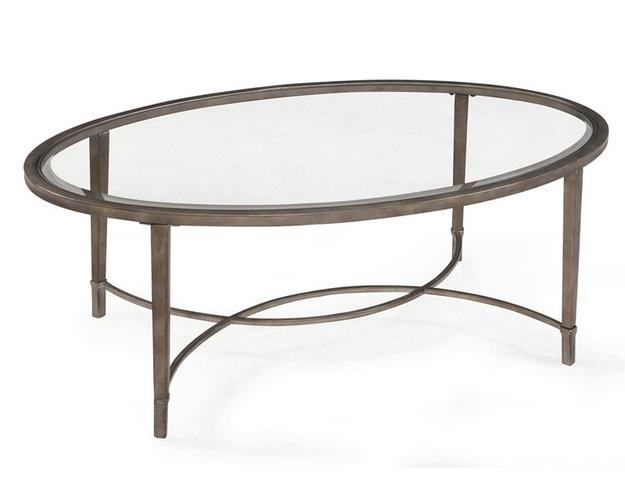 T2114 - COPIA OVAL END TABLE
