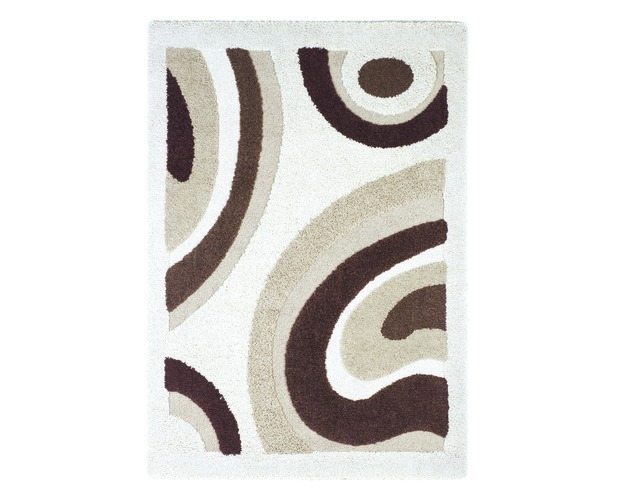 Medium Rug-rugs-structure - Ivory Brown