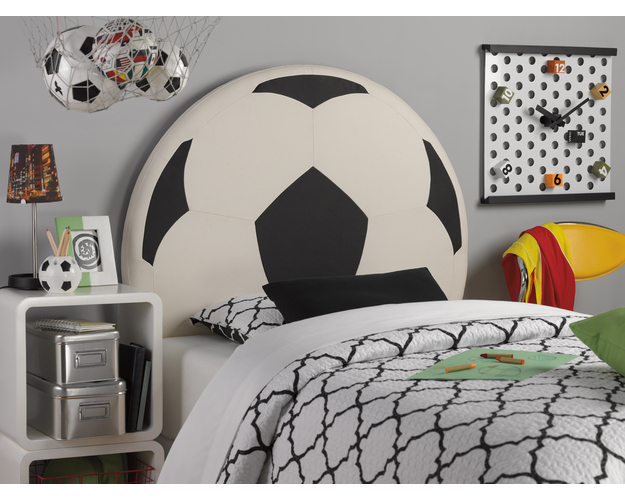 SOCCER BALL HEADBOARD