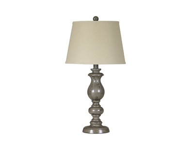 POLY TABLE LAMP (2/CN) SILVINE SIGNATURE