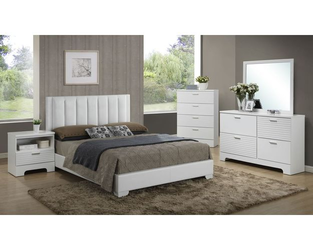 QUEEN HEADBOARD WHITE