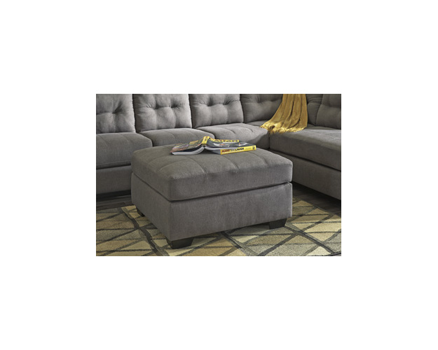 Oversized Accent Ottoman Maier Signature
