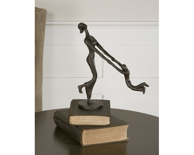 AT PLAY, SCULPTURE