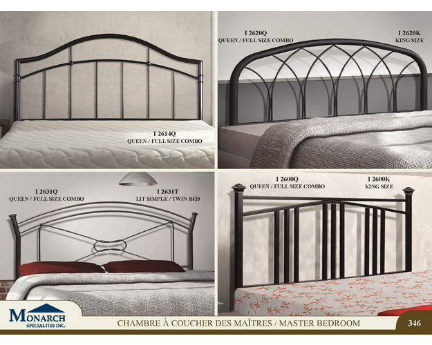 Satin Black King Size Headboard Only   Pg346