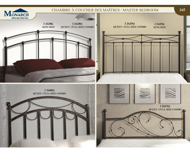 Gun Black King Size Headboard Or Footboard Only   Pg345
