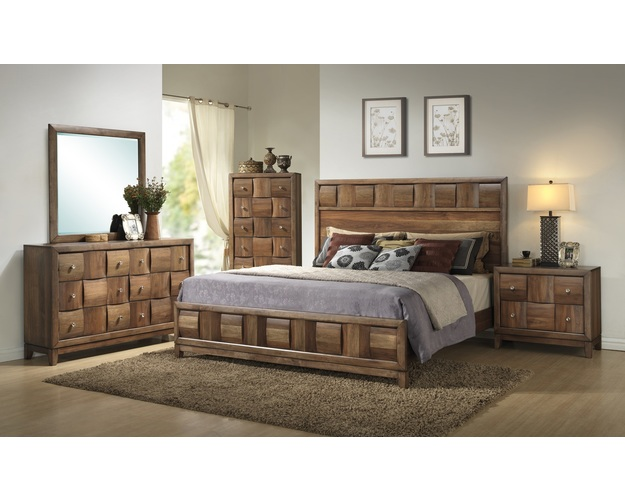 QUEEN HEADBOARD WALNUT