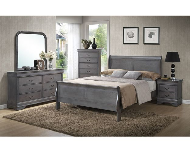 NIGHTSTAND GREY