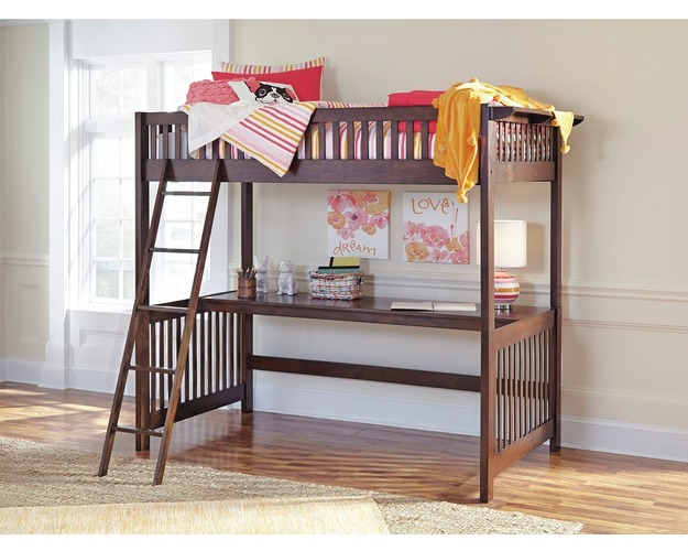 TWIN/TWIN BUNK BED PANELS STRENTON SIGNATURE