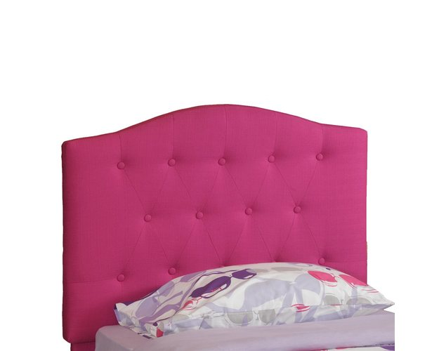 PINK TUFT TWIN HEADBOARD