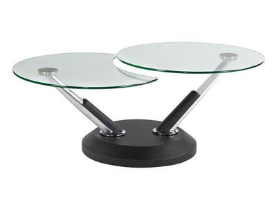 380 - MODESTO HALFMOON SOFA TABLE