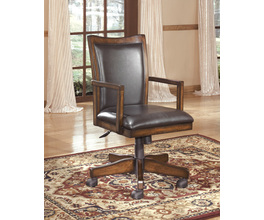 HOME OFFICE SWIVEL DESK CHAIR HAMLYN SIGNATURE