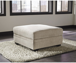 OVERSIZED ACCENT OTTOMAN AMEER SIGNATURE