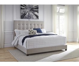 KING UPHOLSTERED BED CONTEMPORARY UPHOLSTERED BEDS SIGNATURE